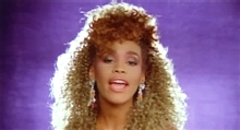 Whitney in I wanna dance with somebody