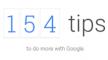 154 tips om meer uit Google te halen
