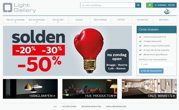 Webshop: Light Gallery, experts in verlichting   Surfplaza Magazine