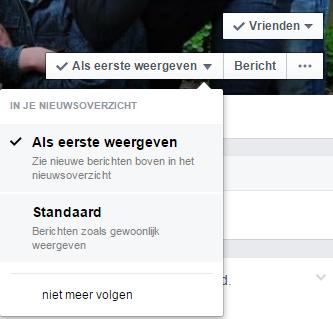 voorgesteld bericht facebook