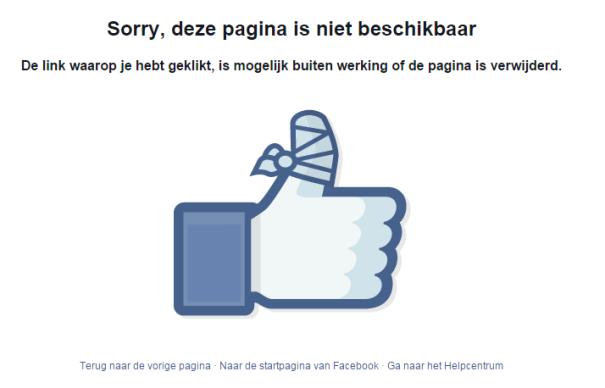 profiel facebook bekijken