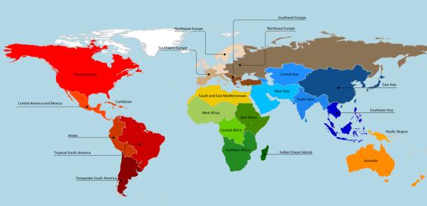 waar komt ons voedsel vandaan een verrassende kaart