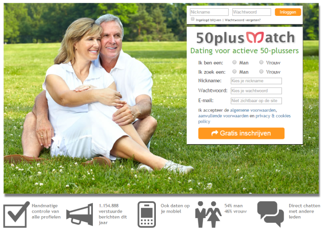 50 Plus Dating - Free 50 Dating Site