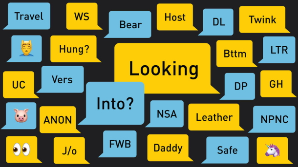 grindr dictionary